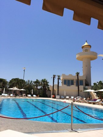 Grand Hotel Minareto : pool and minarette