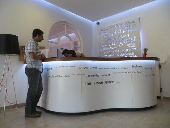 Acqua Vatos Hotel: Reception