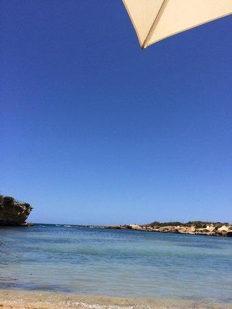 Grand Hotel Minareto: the beach