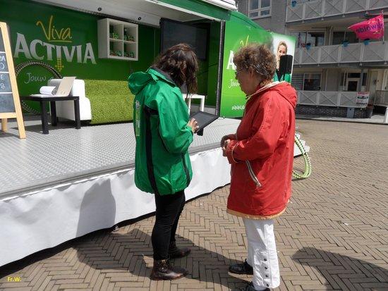 Zeewolde, Países Bajos: Een vraag gesprek .