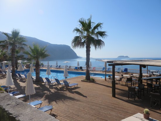 Crystal Beach Hotel: perfecte ligging