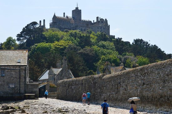 St. Michael's Mount: Are we going up there?