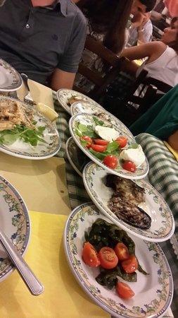 Osteria Il Gobbetto : Gli antipasti misti!