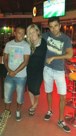 Cettia Apart Hotel: Adam,  me n martin .....best entertainers