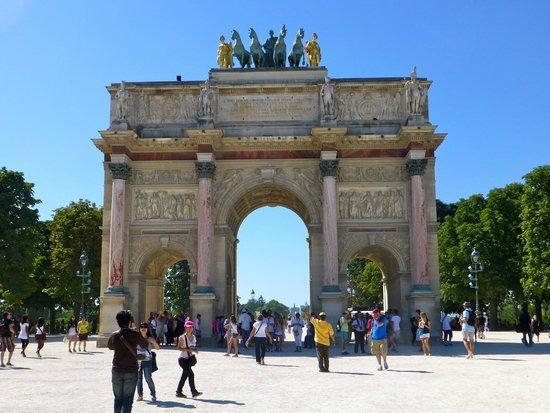 Arc de Triomphe du Carrousel : Arc du Carrousel