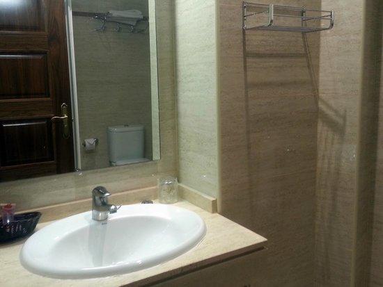 Granada Centro Hotel: Baño