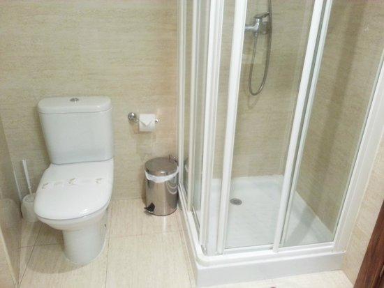 Hotel Granada Centro: Ducha habitación individual