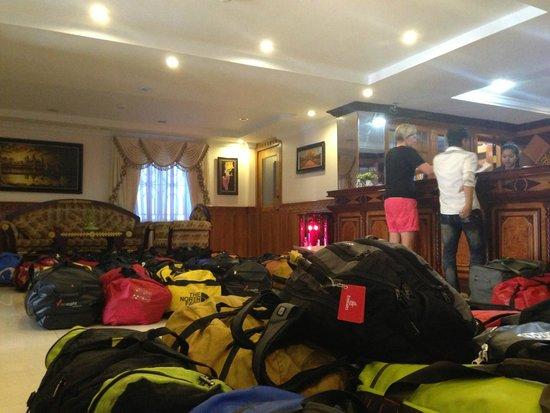 Rain Rock Hotel : Arrival Group