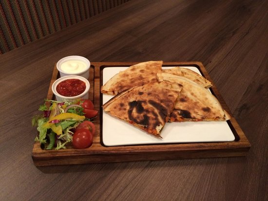 Oscars: Quesadillas from new menu