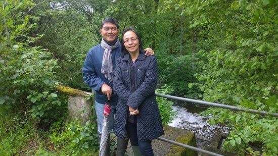 Chateau Quelennec Maison D'hote: Hiking the Chateau's Forest Park
