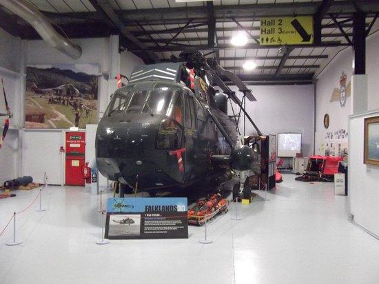 Fleet Air Arm Museum : Falklands Helicopter