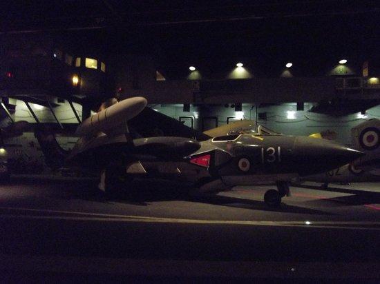 Fleet Air Arm Museum : On the carrier flightdeck