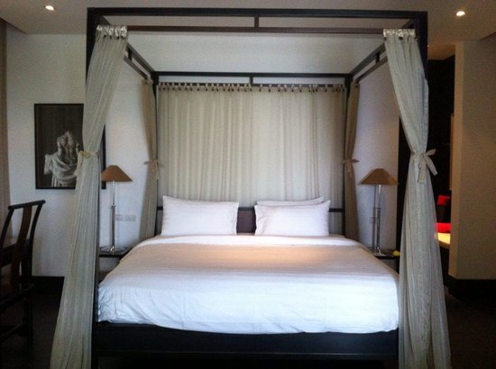 The Pavilions Phuket : Bedroom in Spa Pavilion