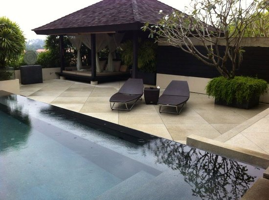 The Pavilions Phuket: Private garden/pool of Spa Pavilion