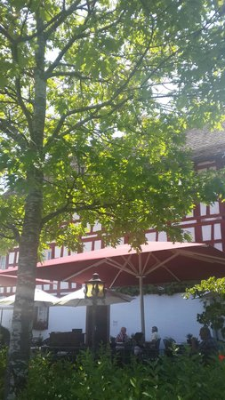Zur Alten Herberge : Terrace towards the restaurant