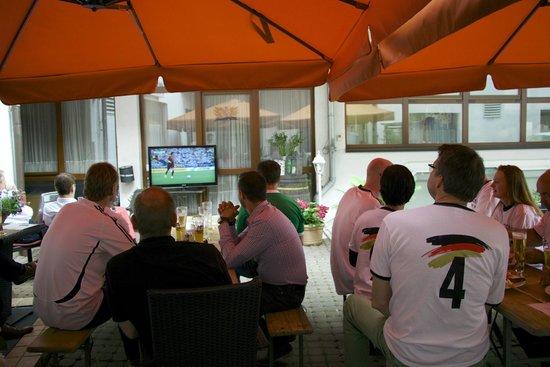 Hotel zum Löwen: WM 2014