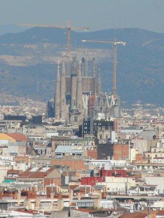 Sagrada Família: Imposing over Barcelona...