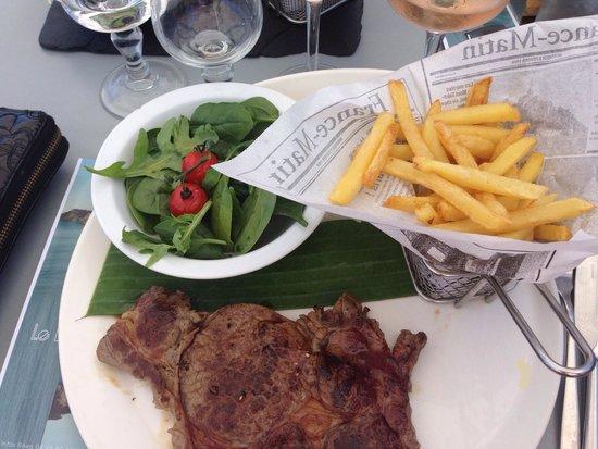 Le Bard'o : Entrecôte de bœuf