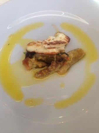 Mimosa Cardiff: Grilled Halloumi & Veg Starter