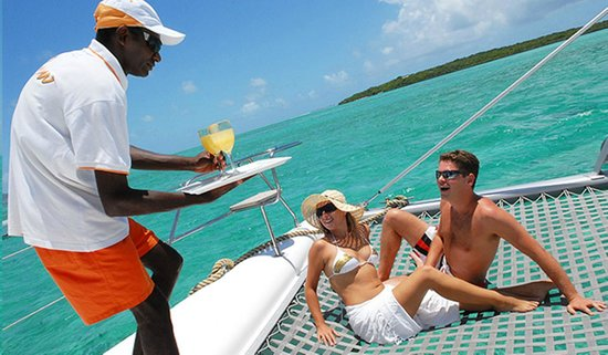 Pereybere Hotel & Apartments : Catamaran Trip