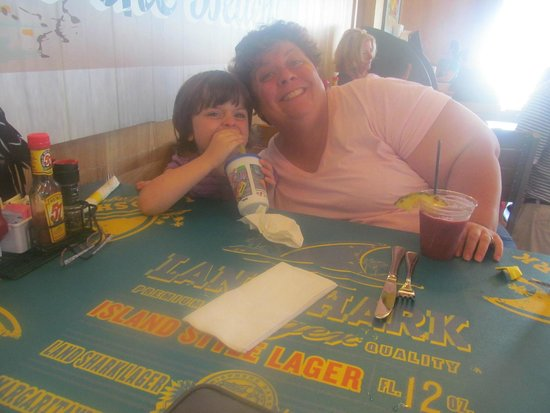 LandShark Bar & Grill Atlantic City: daughter and i enjoying some time