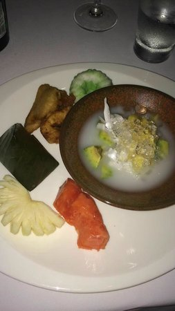 Alila Ubud : Dessertbord thema-avond