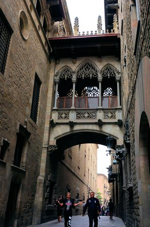 Gothic Quarter (Barri Gotic): こんなところも
