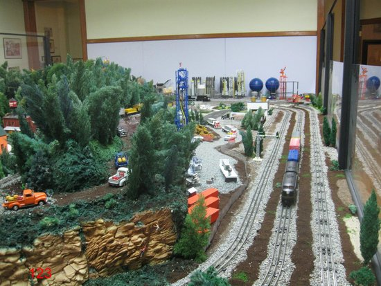 The Kruger Street Toy & Train Museum: Third Rail Layout in One Room