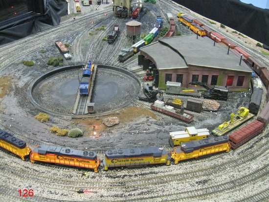 The Kruger Street Toy & Train Museum: HO Layout in Another Room