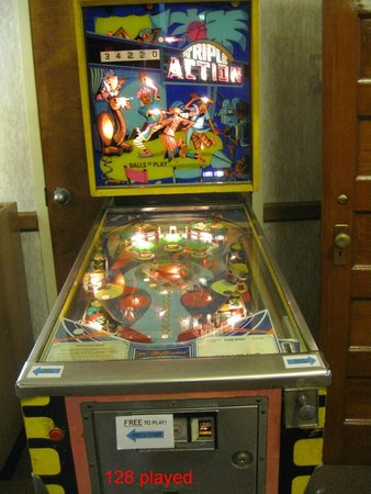 The Kruger Street Toy & Train Museum: The FREE Pinball Machine