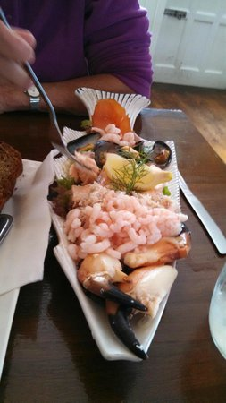 Keogh's of Kinvara Bar & Restaurant : Keogh's Seafood Platter
