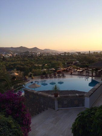 4reasons hotel+bistro: Amazing views from the hills down to the beach and harbor