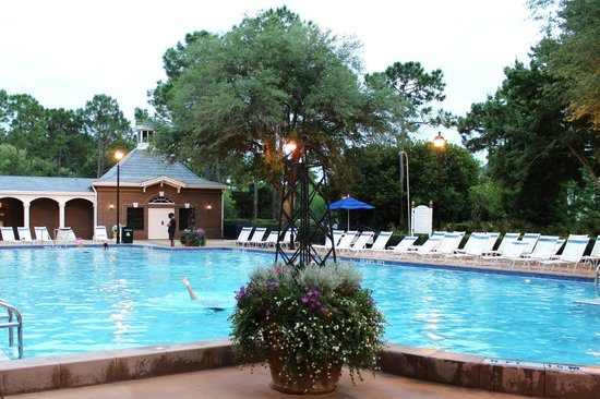 Disney's Port Orleans Resort - Riverside: Quiet Pool am Parterre Place