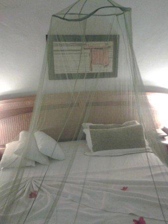 Bavaro Princess All Suites Resort, Spa & Casino: Das war mein Zimmer ich habe mir ein Moskitonetz mitgebracht so konnte ich die Klimaanlage in de