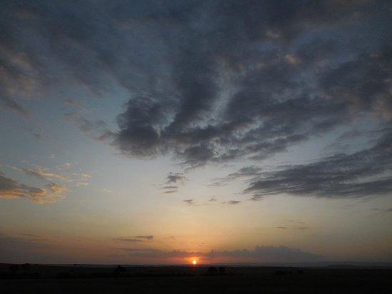 Naibor Camp: sundowner