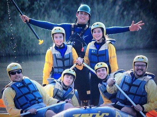 Alaya: Rafting