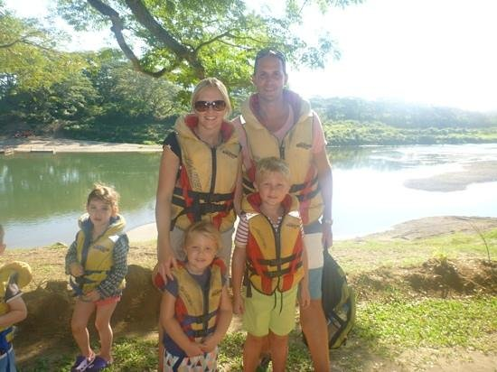 Sigatoka River Safari: pre ride snap