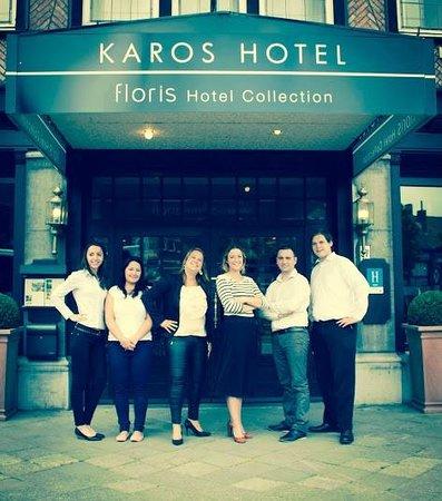 Floris Karos Hotel : Entrance presented by the KAROS team