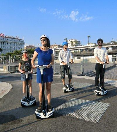 Visiter Cannes sur Gyropode Inmotion