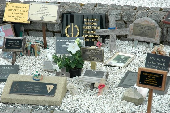Spean Lodge: Garden for Tributes