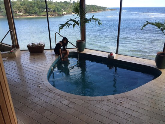 Namale the Fiji Islands Resort & Spa: Spa area.
