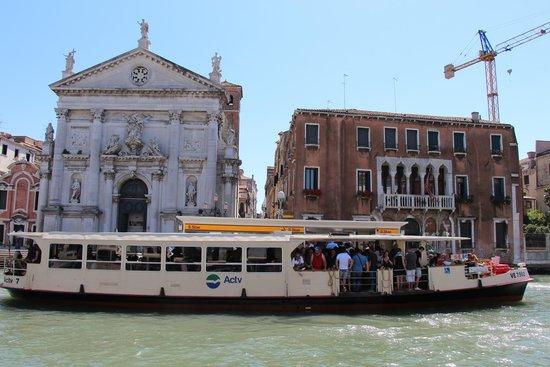 Laguna di Venezia: Vaporetto/Wasserbus