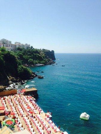 Bilem High Class Hotel: Beach area