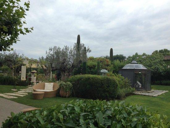 Le Mas de Pierre Hotel: Hotel grounds