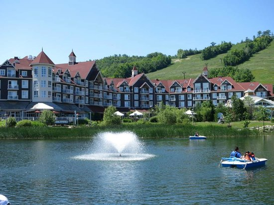 Westin Trillium House Blue Mountain: Hotel across pond