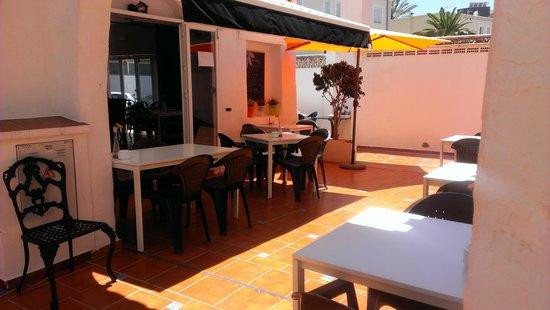 Calendula tapas: terraza