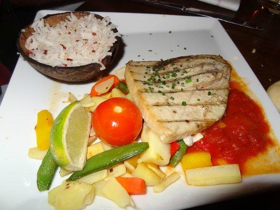 Blue Lagoon Restaurant - Disneyland Paris : pez espada