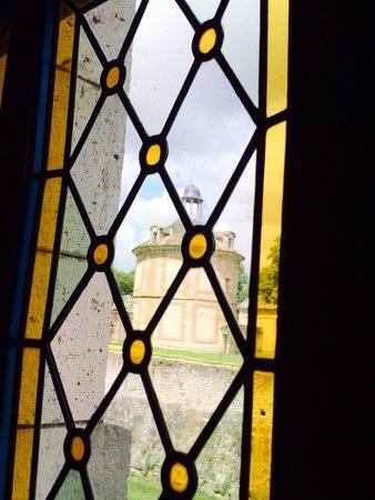 Château d'Augerville : Vu de ma table ;)