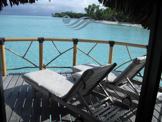 Bora Bora Pearl Beach Resort & Spa : ちょっと贅沢なひと時
