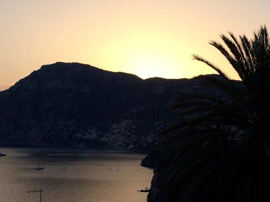 La Strada : Sunset view of Positano